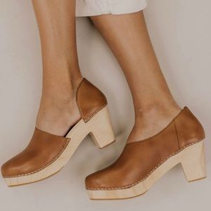New Free People Monroe Taupe Clog